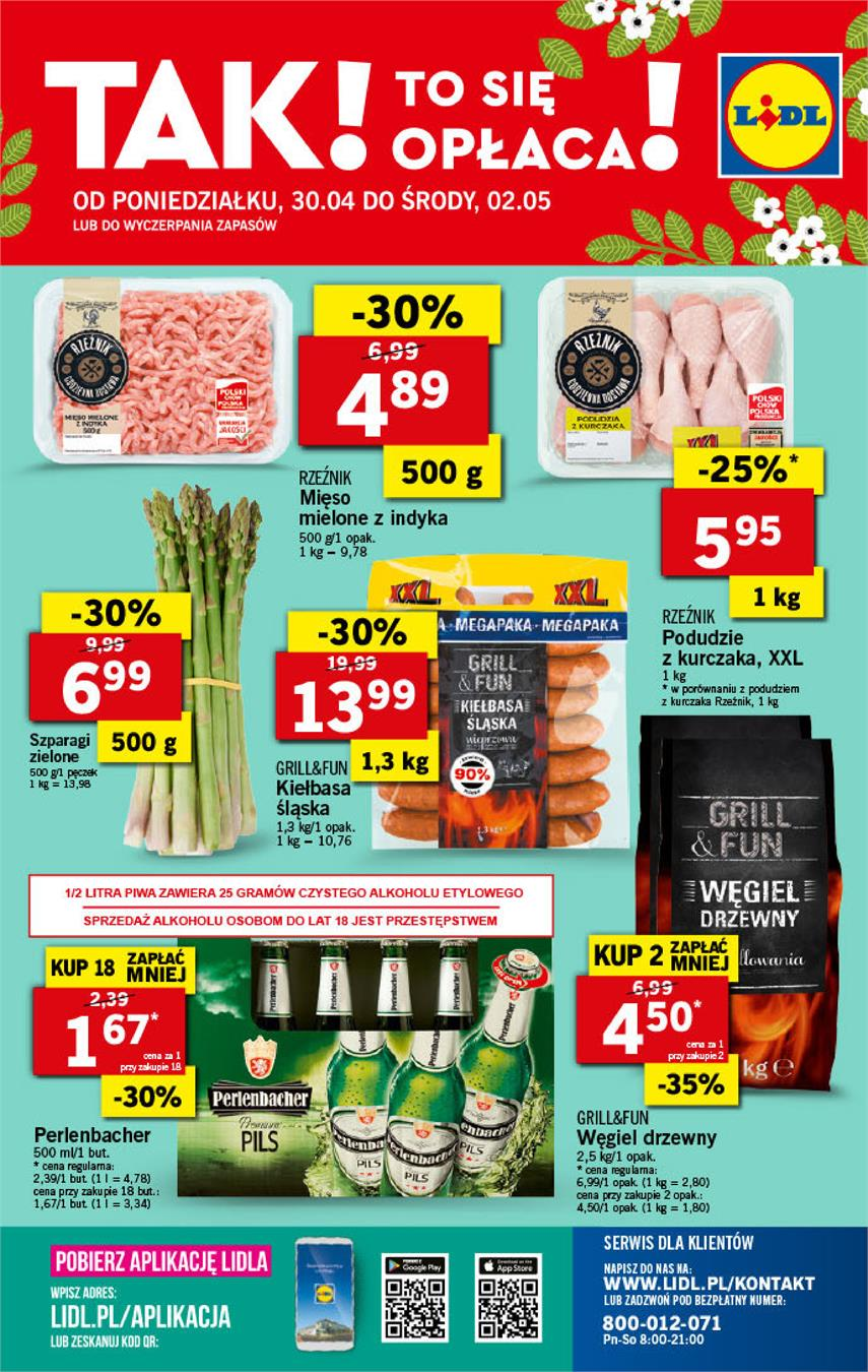 Gazetka Lidl Polska Sp. z o.o. nr 40 od 2018-04-30 do 2018-05-02