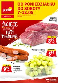 Gazetka nr Polomarket Sp. z o.o. od  2018-05-07 do 2018-05-12