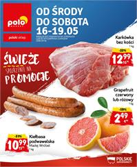 Gazetka nr Polomarket Sp. z o.o. od  2018-05-16 do 2018-05-19