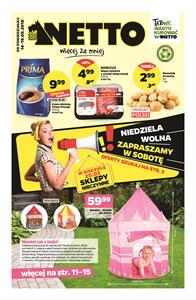 Gazetka nr Netto Sp. z o.o. od  2018-05-14 do 2018-05-19