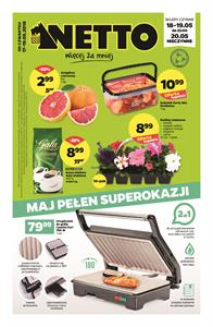 Gazetka nr Netto Sp. z o.o. od  2018-05-17 do 2018-05-19