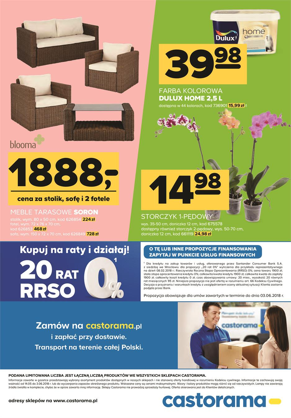 Gazetka Promocyjna Castoramapl Katalog Dom I Ogród Maj