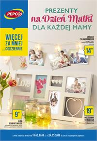 Gazetka nr Pepco Polan Sp. z o.o. od  2018-05-18 do 2018-05-24