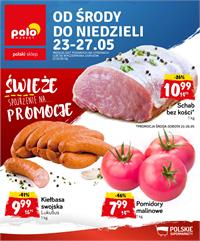 Gazetka nr Polomarket Sp. z o.o. od  2018-05-23 do 2018-05-27