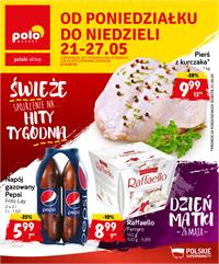 Gazetka nr Polomarket Sp. z o.o. od  2018-05-21 do 2018-05-27