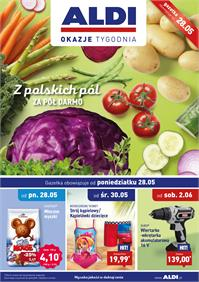 Gazetka nr ALDI SP Z O O  od  2018-05-28 do 2018-06-03