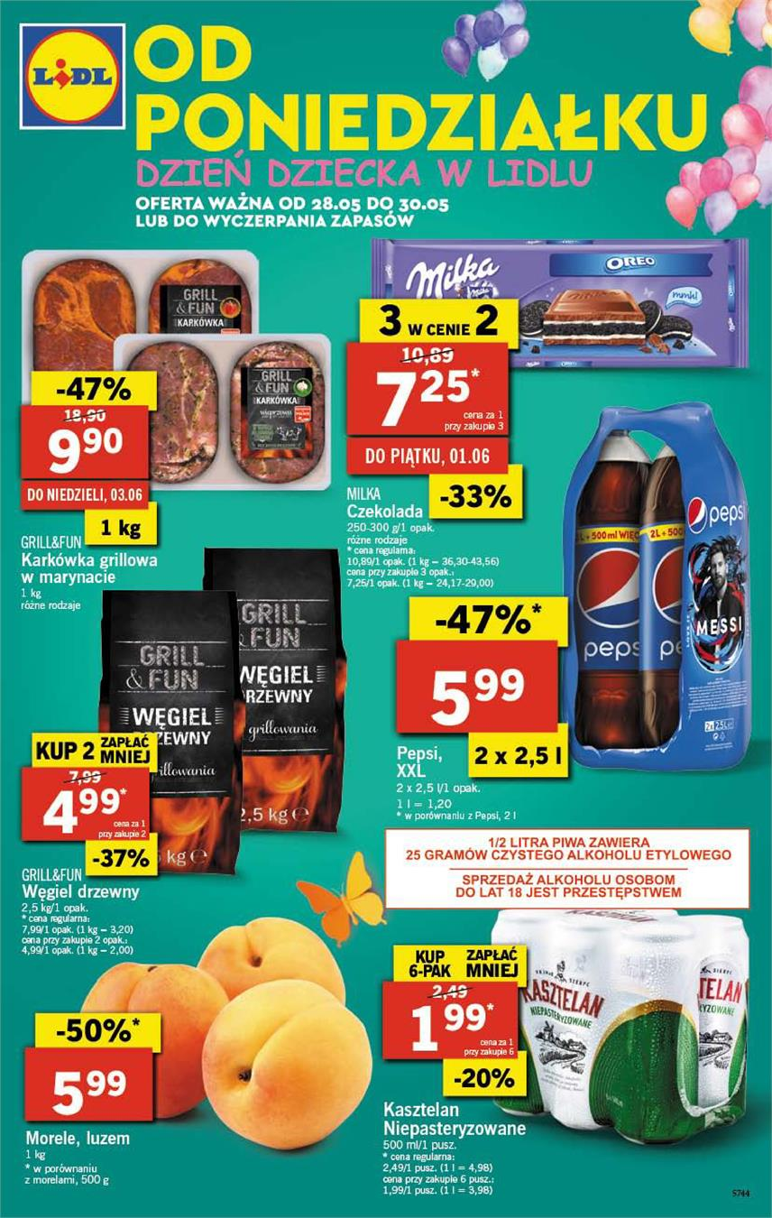 Gazetka Lidl Polska Sp. z o.o. nr 1 od 2018-05-28 do 2018-05-30