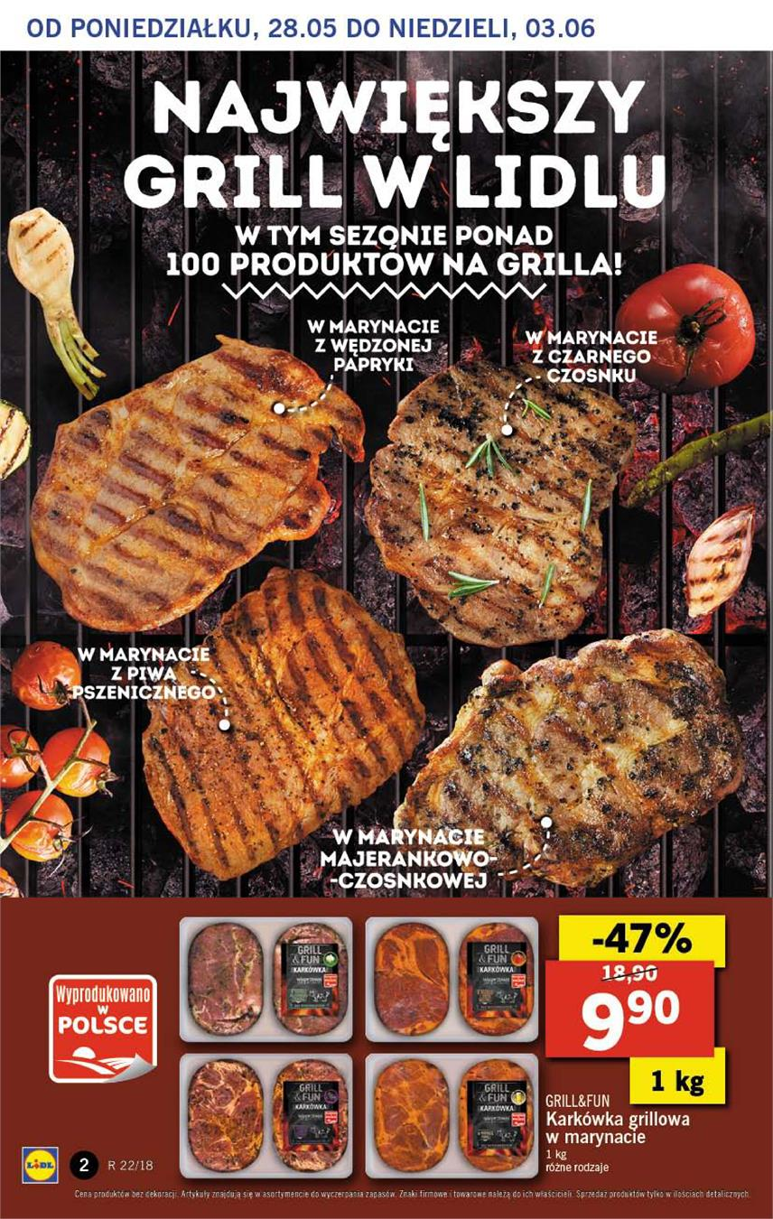 Gazetka Lidl Polska Sp. z o.o. nr 2 od 2018-05-28 do 2018-05-30