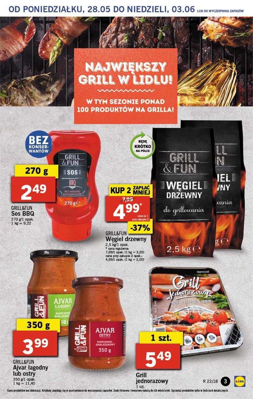Gazetka Lidl Polska Sp. z o.o. nr 3 od 2018-05-28 do 2018-05-30