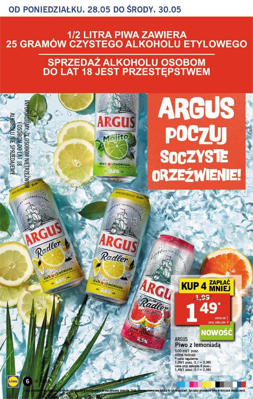 Gazetka Lidl Polska Sp. z o.o. nr 6 od 2018-05-28 do 2018-05-30