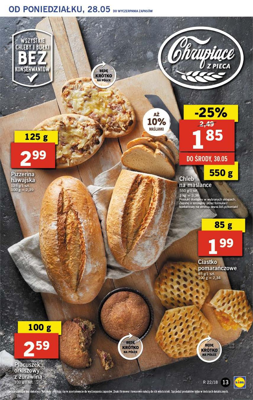 Gazetka Lidl Polska Sp. z o.o. nr 13 od 2018-05-28 do 2018-05-30