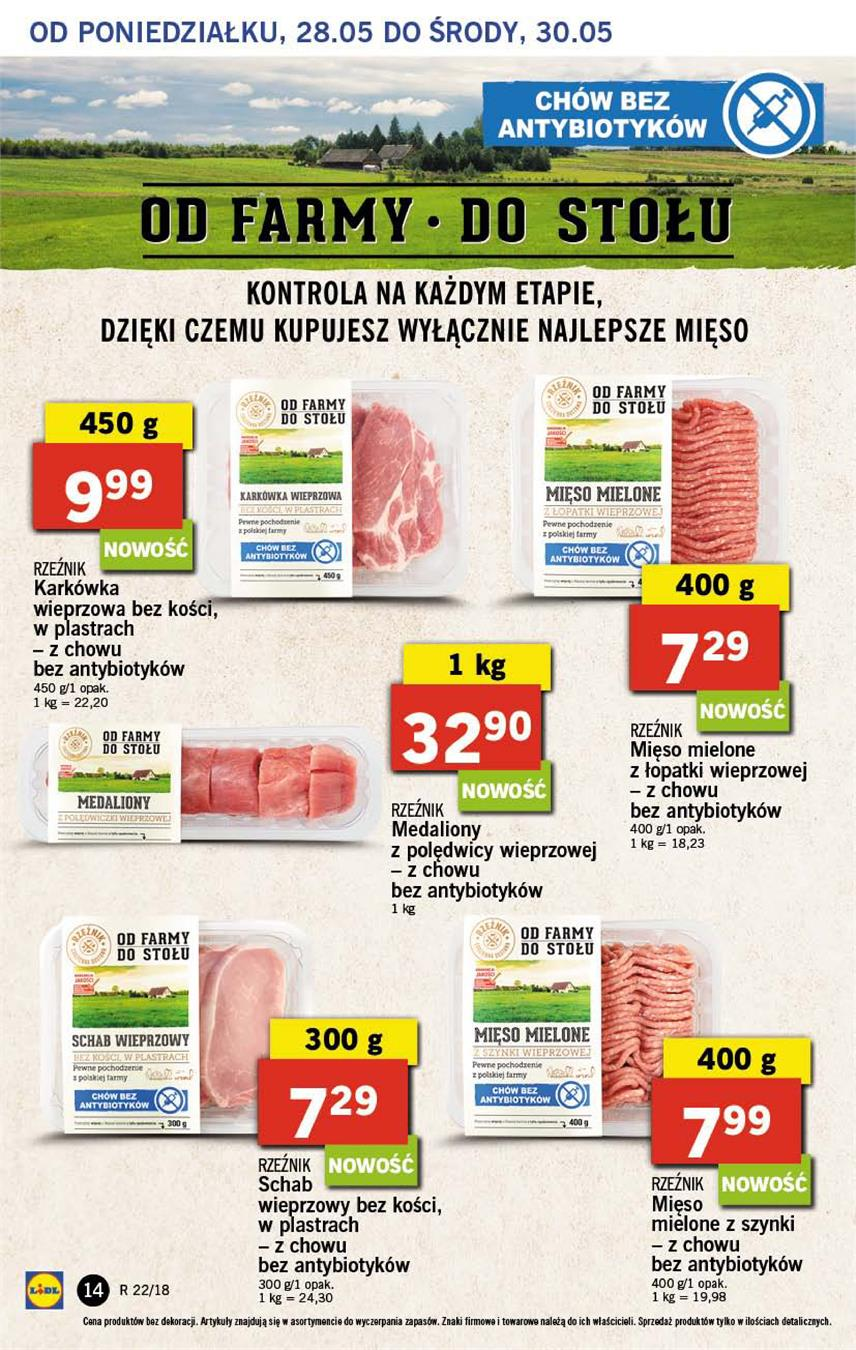 Gazetka Lidl Polska Sp. z o.o. nr 14 od 2018-05-28 do 2018-05-30