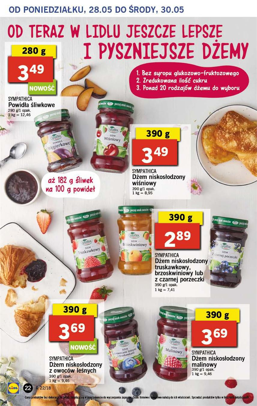 Gazetka Lidl Polska Sp. z o.o. nr 22 od 2018-05-28 do 2018-05-30