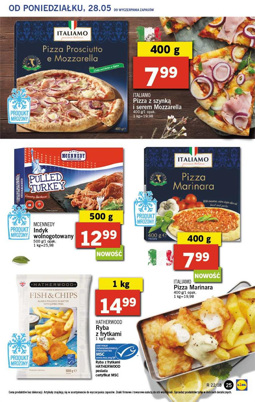 Gazetka Lidl Polska Sp. z o.o. nr 25 od 2018-05-28 do 2018-05-30