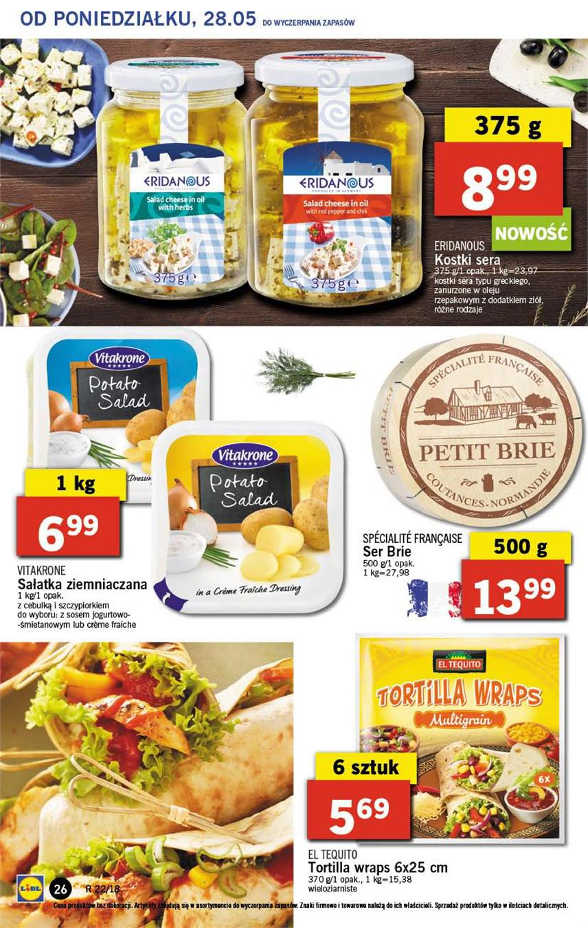 Gazetka Lidl Polska Sp. z o.o. nr 26 od 2018-05-28 do 2018-05-30