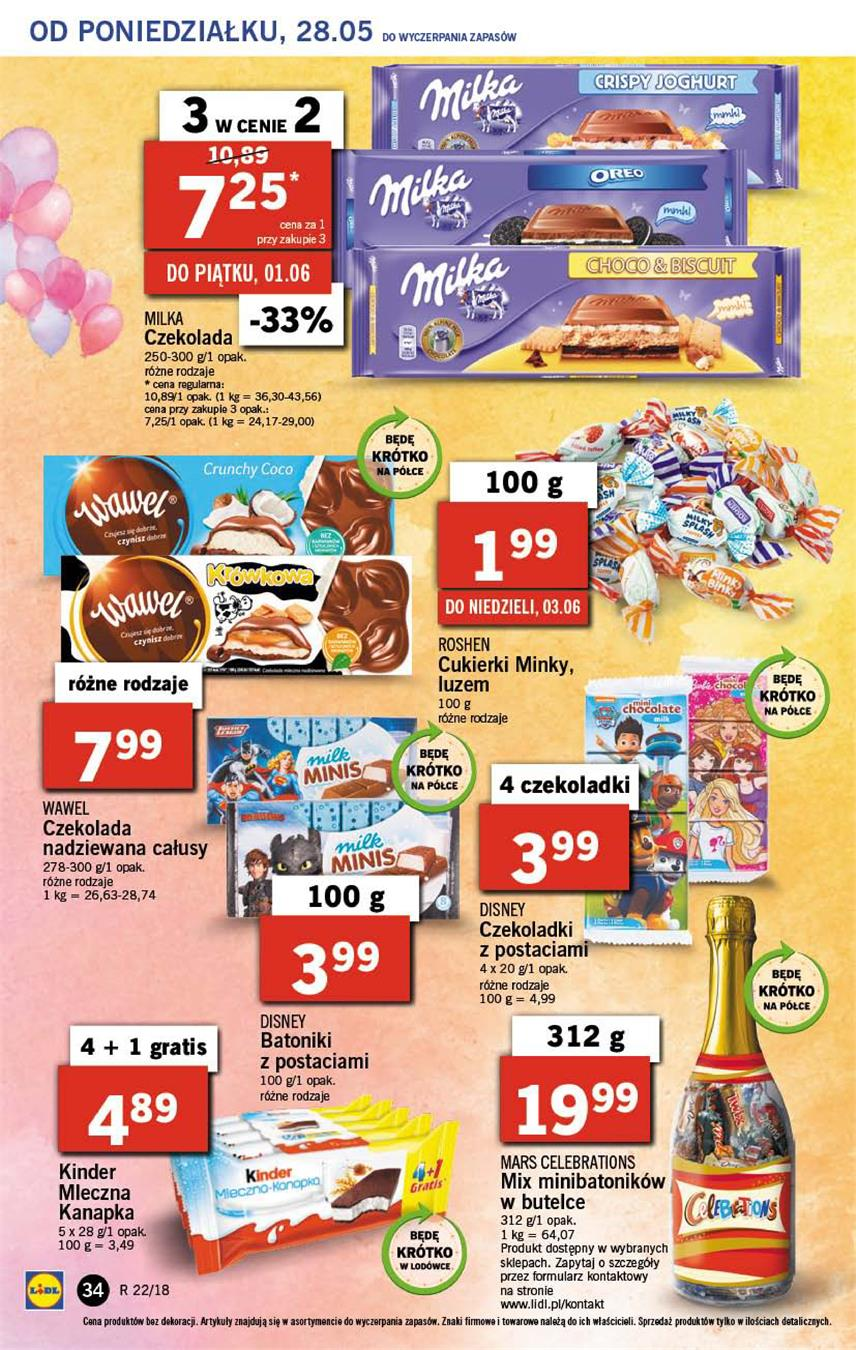 Gazetka Lidl Polska Sp. z o.o. nr 34 od 2018-05-28 do 2018-05-30