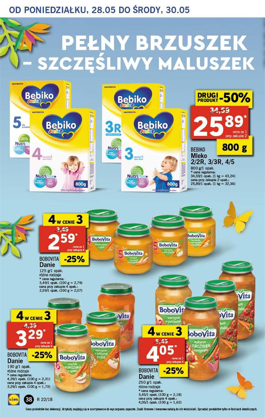 Gazetka Lidl Polska Sp. z o.o. nr 38 od 2018-05-28 do 2018-05-30