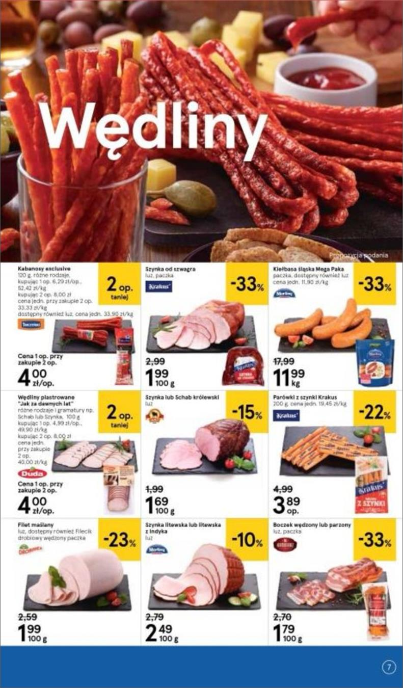 Gazetka Tesco Polska Sp. z o.o. nr 7 od 2018-06-14 do 2018-06-20