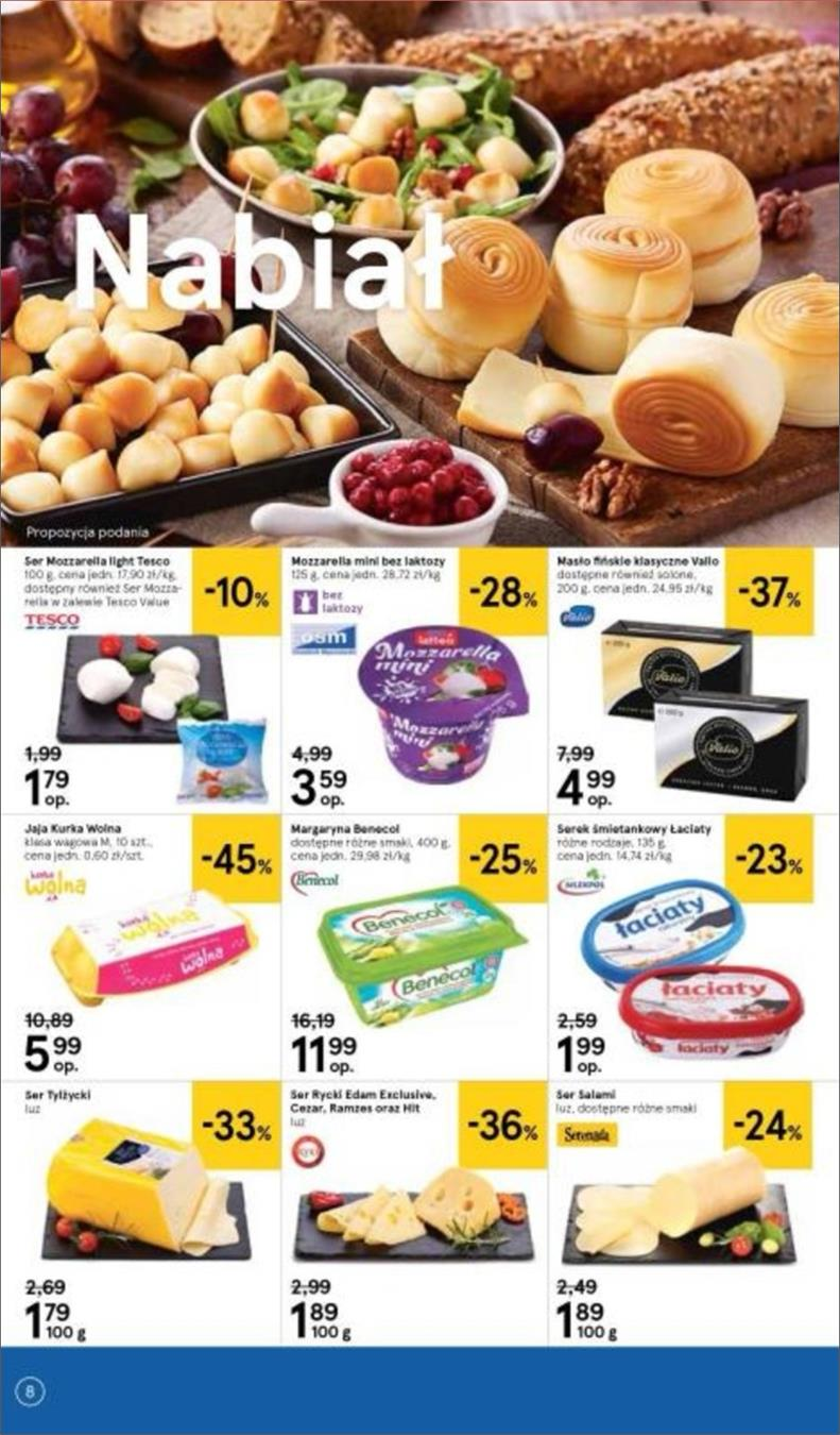 Gazetka Tesco Polska Sp. z o.o. nr 8 od 2018-06-14 do 2018-06-20