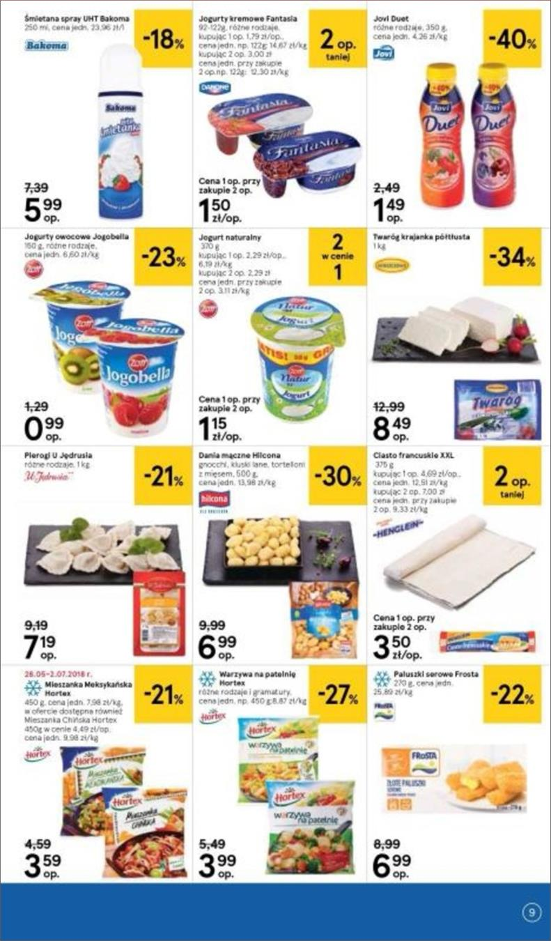Gazetka Tesco Polska Sp. z o.o. nr 9 od 2018-06-14 do 2018-06-20
