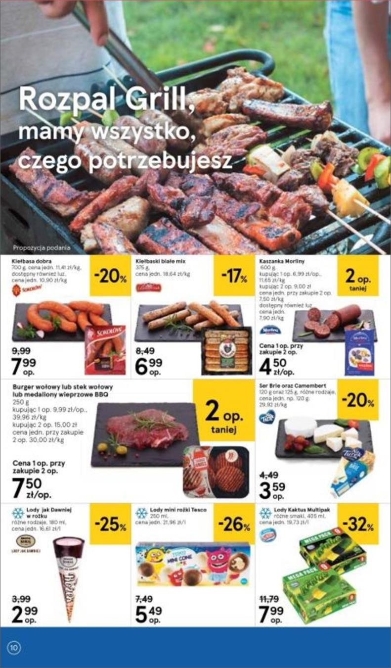 Gazetka Tesco Polska Sp. z o.o. nr 10 od 2018-06-14 do 2018-06-20
