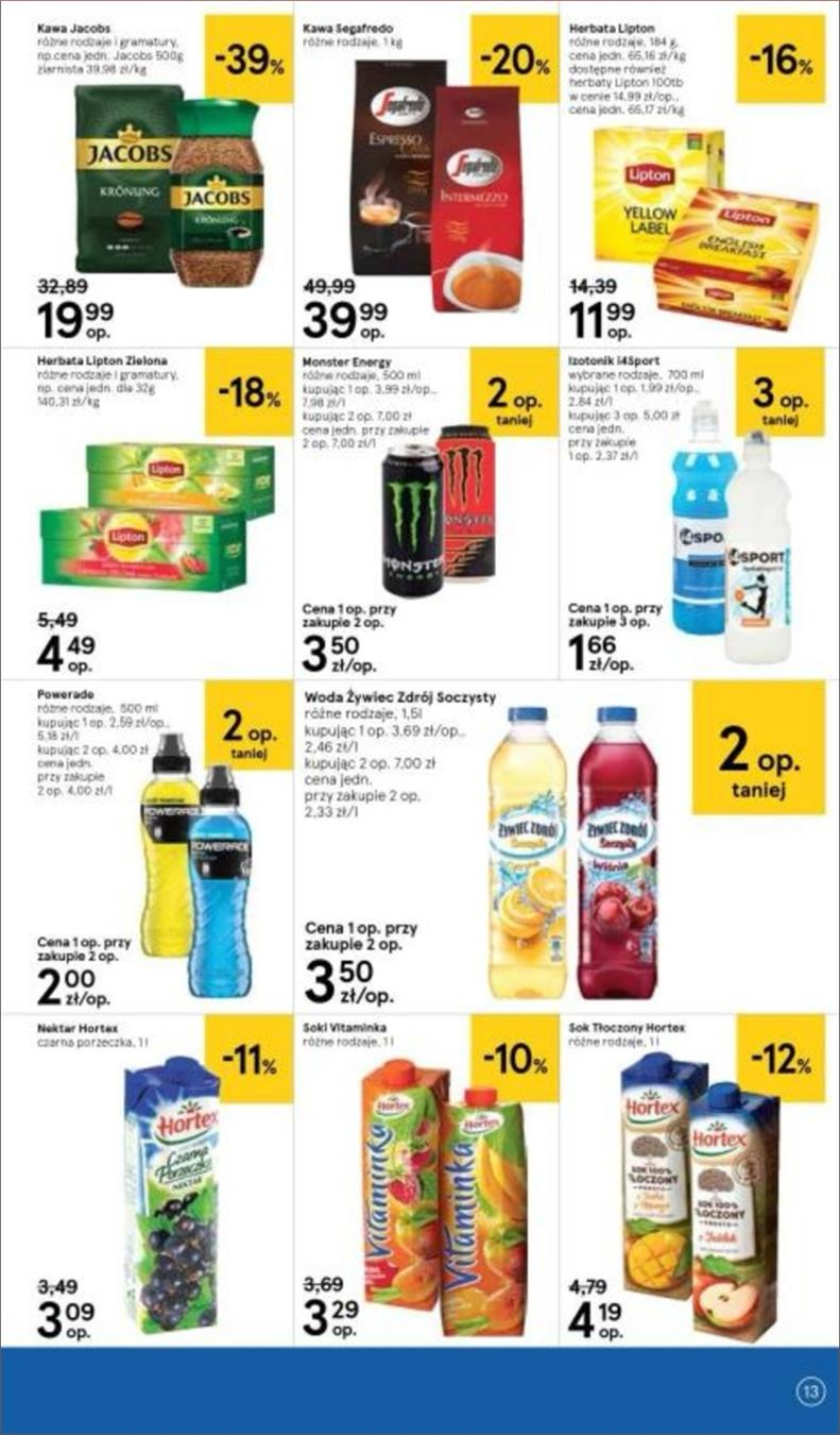 Gazetka Tesco Polska Sp. z o.o. nr 13 od 2018-06-14 do 2018-06-20