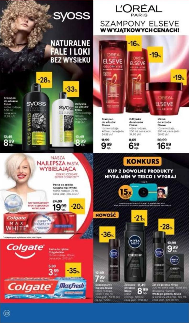 Gazetka Tesco Polska Sp. z o.o. nr 20 od 2018-06-14 do 2018-06-20