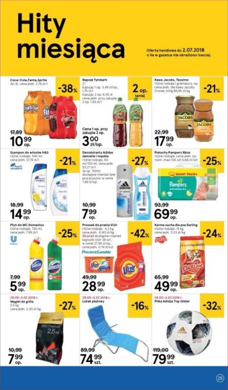 Gazetka Tesco Polska Sp. z o.o. nr 25 od 2018-06-14 do 2018-06-20