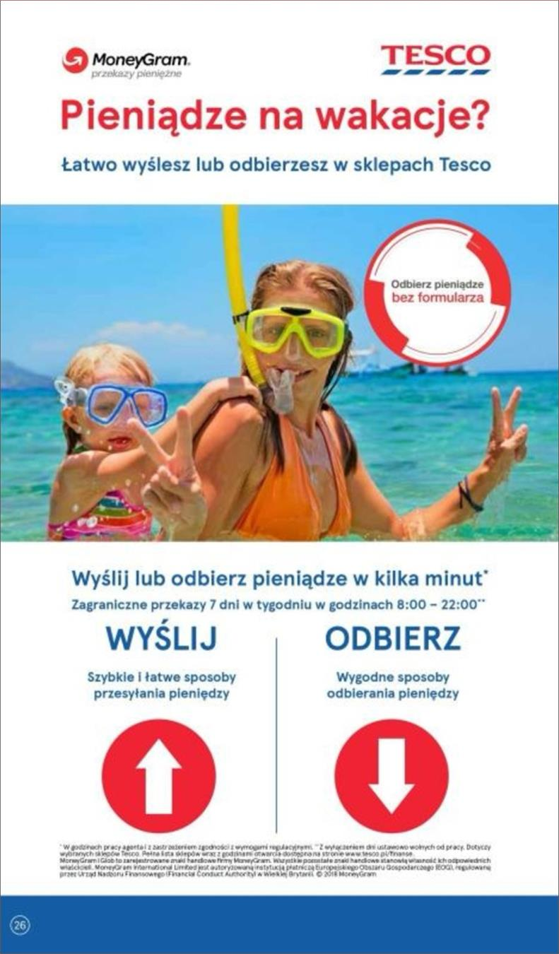 Gazetka Tesco Polska Sp. z o.o. nr 26 od 2018-06-14 do 2018-06-20