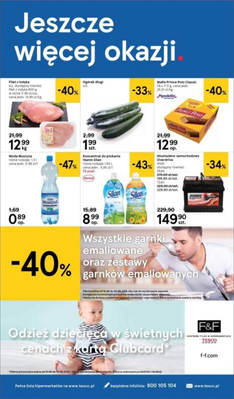 Gazetka Tesco Polska Sp. z o.o. nr 28 od 2018-06-14 do 2018-06-20