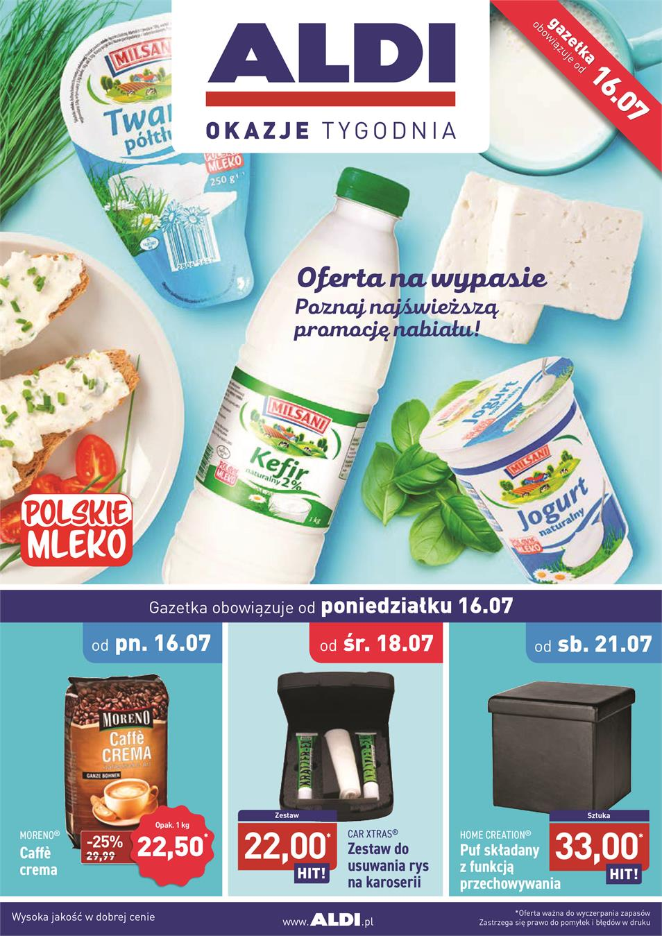 Gazetka ALDI SP Z O O  nr 0 od 2018-07-16 do 2018-07-21