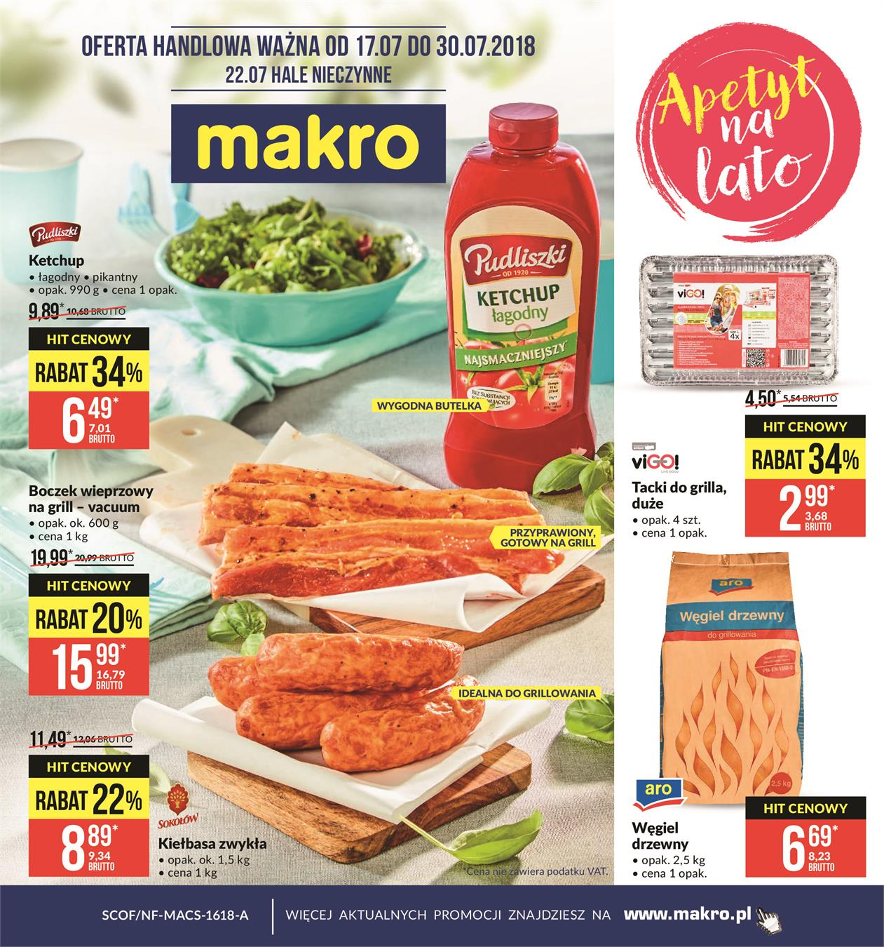 Gazetka MAKRO CASH AND CARRY POLSKA S A nr 0 od 2018-07-17 do 2018-07-30