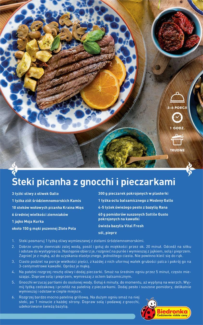Gazetka Promocyjna Biedronkapl Kuchnia śródziemnomorska