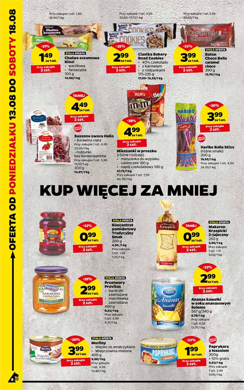 Gazetka Netto Sp. z o.o. nr 8 od 2018-08-13 do 2018-08-18