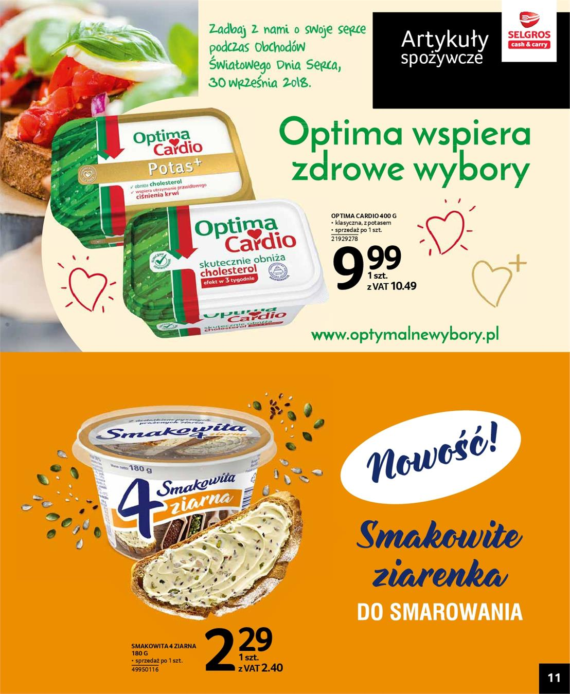 Gazetka Selgros Sp. z o.o. nr 11 od 2018-09-27 do 2018-10-10