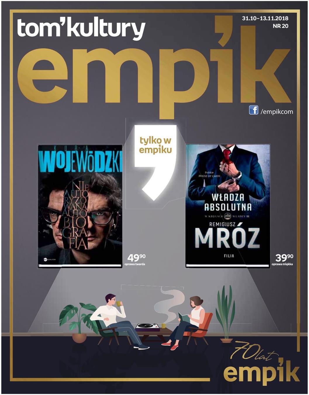 Gazetka Promocyjna Empik Com Empik Katalog Pazdziernik 2018