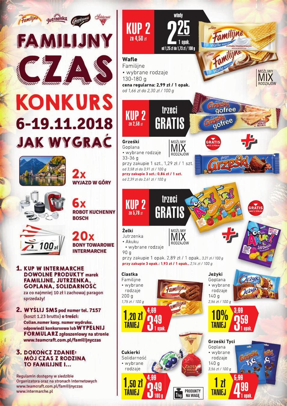 Gazetka SCA PR Polska Sp. z o.o. nr 3 od 2018-11-06 do 2018-11-12