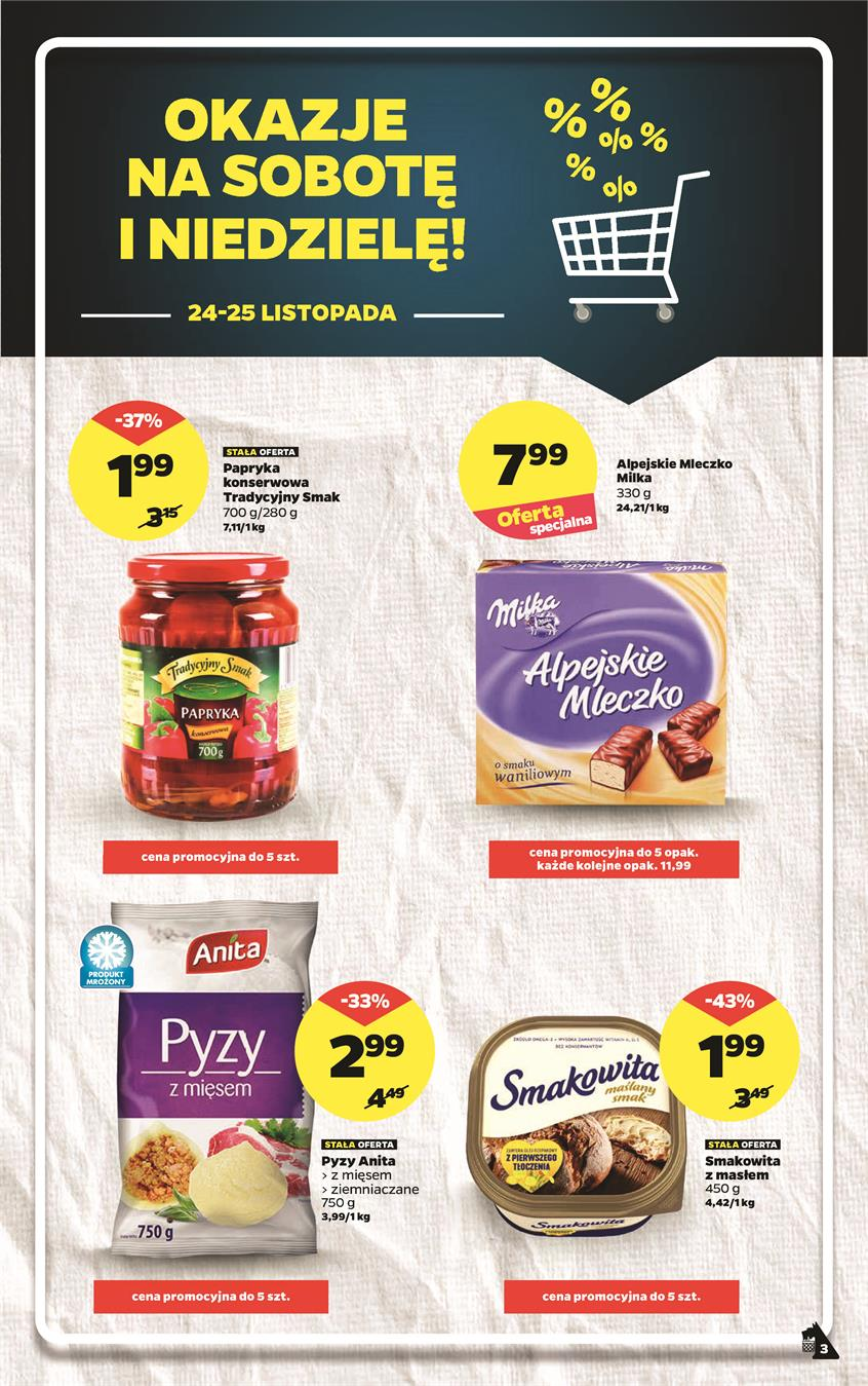 Gazetka Netto Sp. z o.o. nr 3 od 2018-11-19 do 2018-11-25