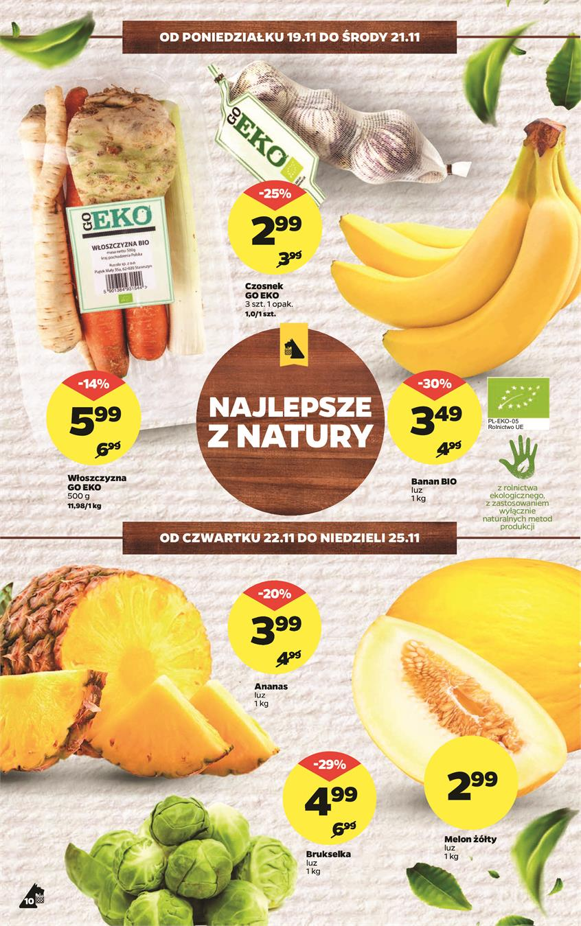 Gazetka Netto Sp. z o.o. nr 10 od 2018-11-19 do 2018-11-25