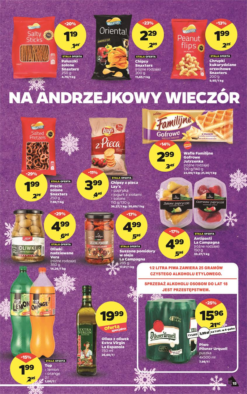 Gazetka Netto Sp. z o.o. nr 15 od 2018-11-19 do 2018-11-25