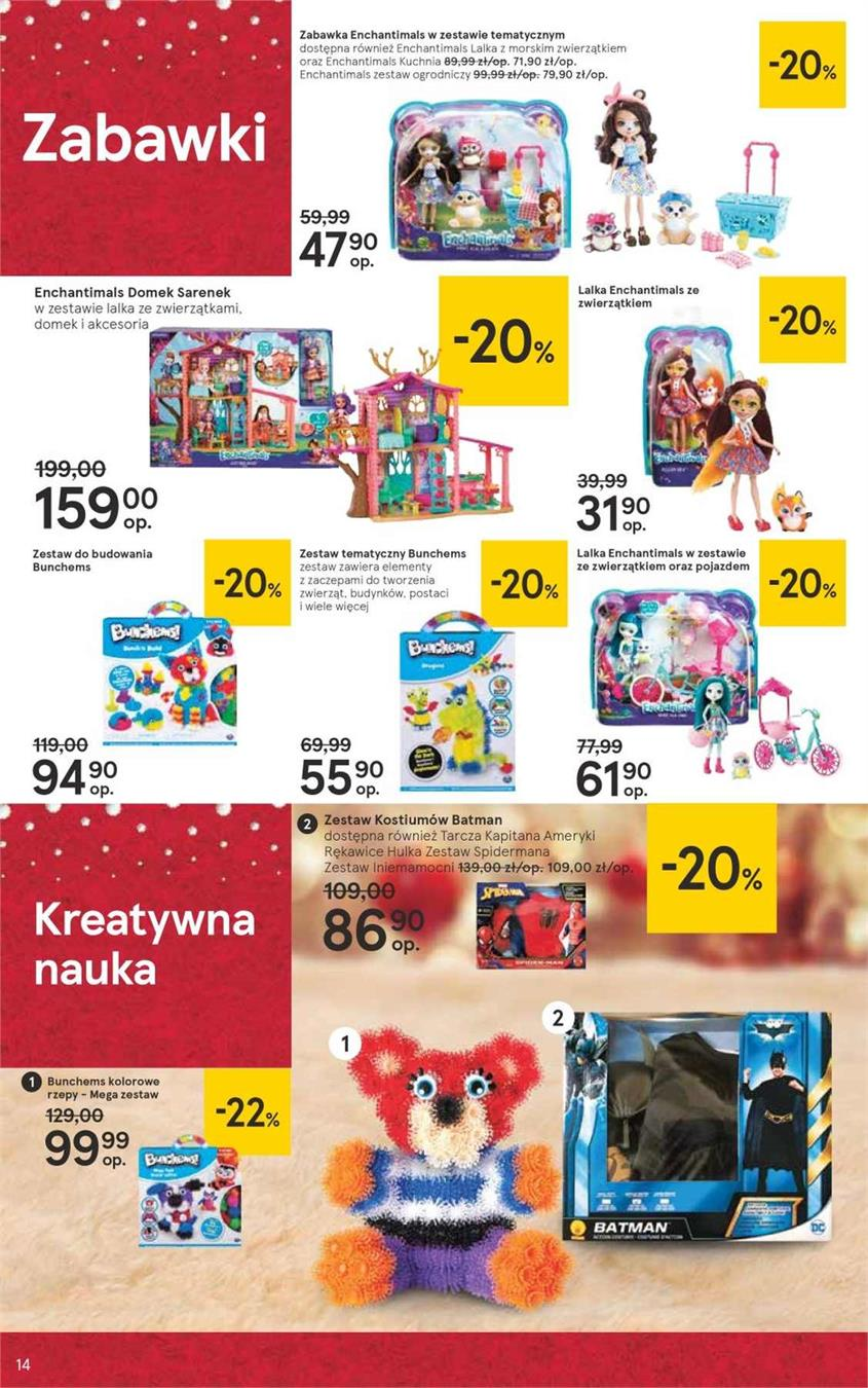 Gazetka Tesco Polska Sp. z o.o. nr 14 od 2018-12-07 do 2018-12-27