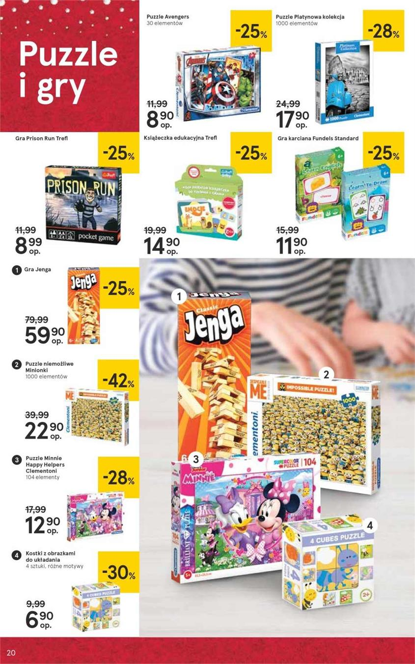 Gazetka Tesco Polska Sp. z o.o. nr 20 od 2018-12-07 do 2018-12-27