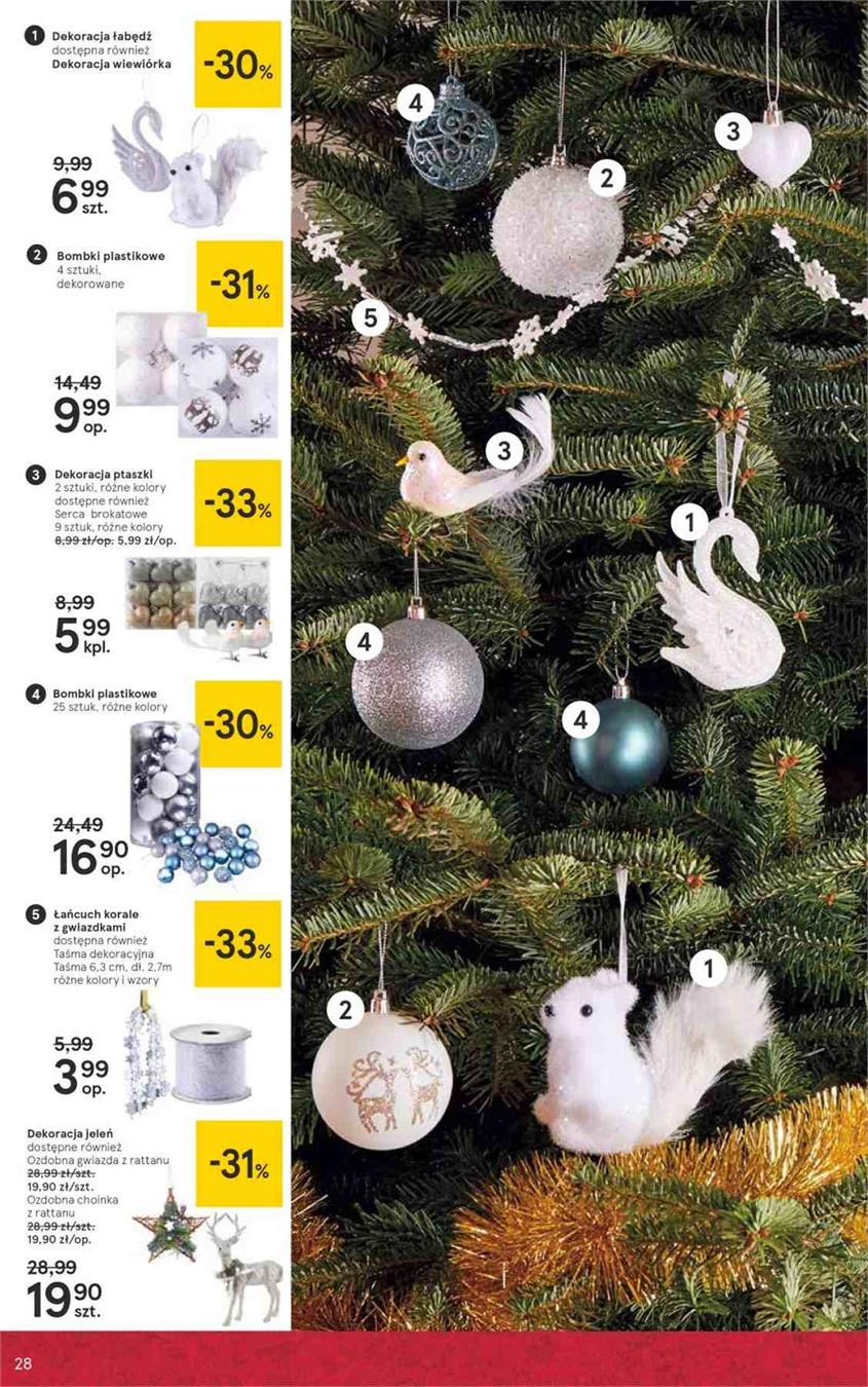 Gazetka Tesco Polska Sp. z o.o. nr 28 od 2018-12-07 do 2018-12-27