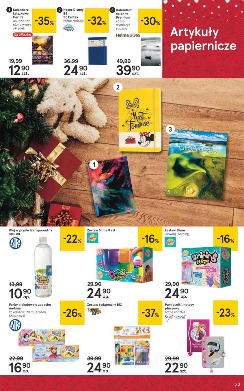 Gazetka Tesco Polska Sp. z o.o. nr 33 od 2018-12-07 do 2018-12-27