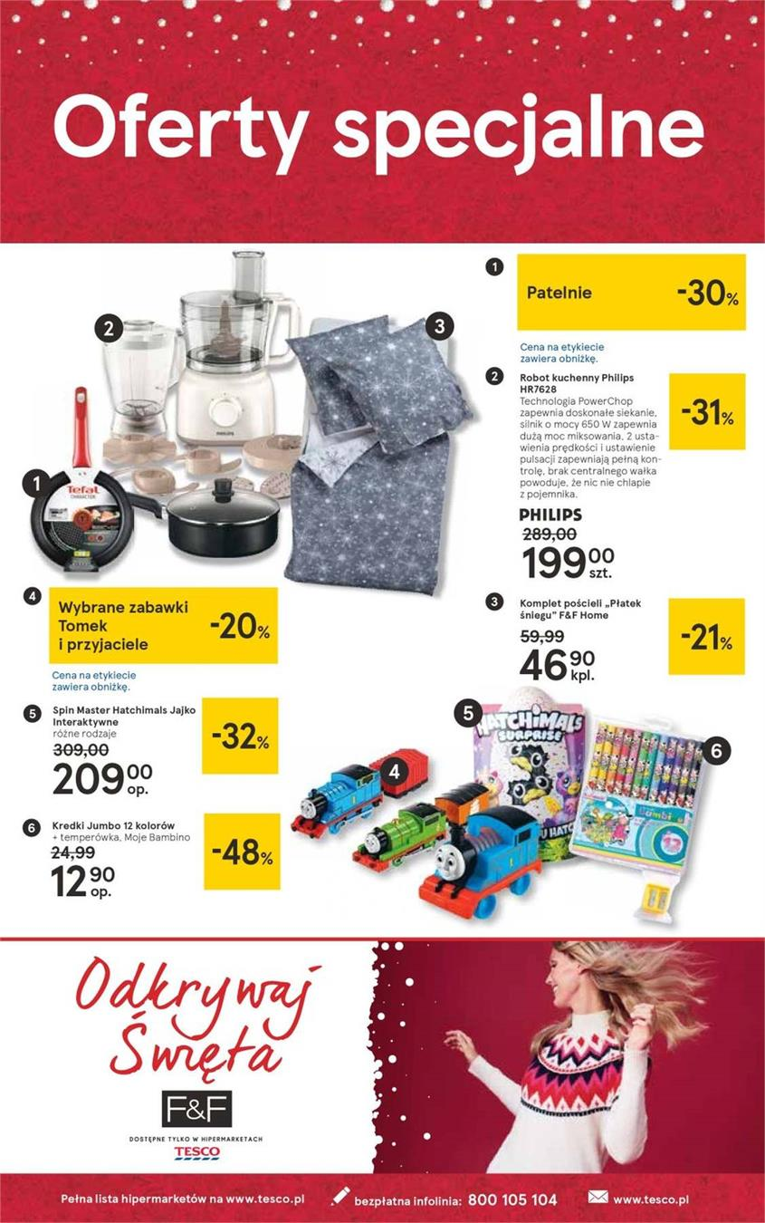 Gazetka Tesco Polska Sp. z o.o. nr 36 od 2018-12-07 do 2018-12-27