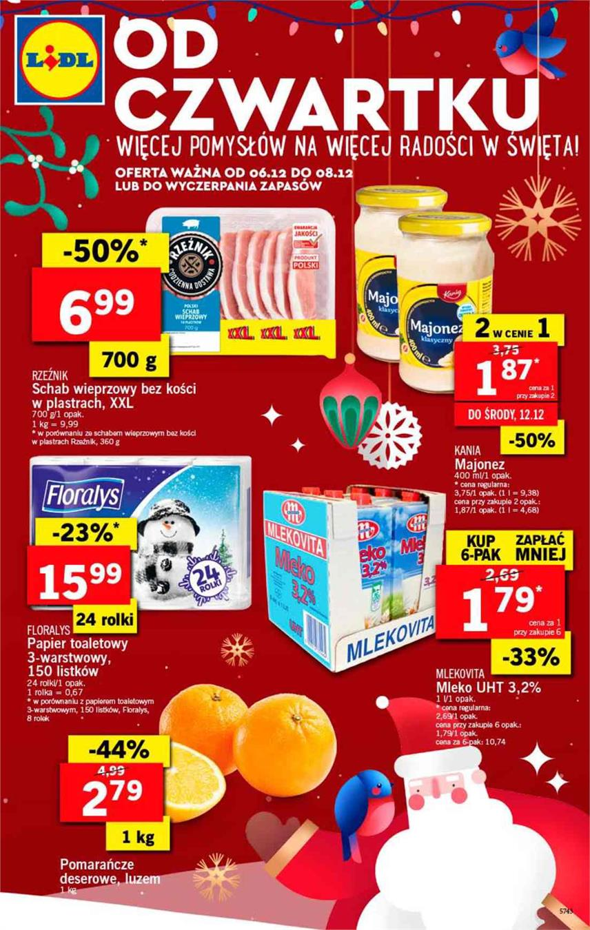 Gazetka Lidl Polska Sp. z o.o. nr 1 od 2018-12-06 do 2018-12-08