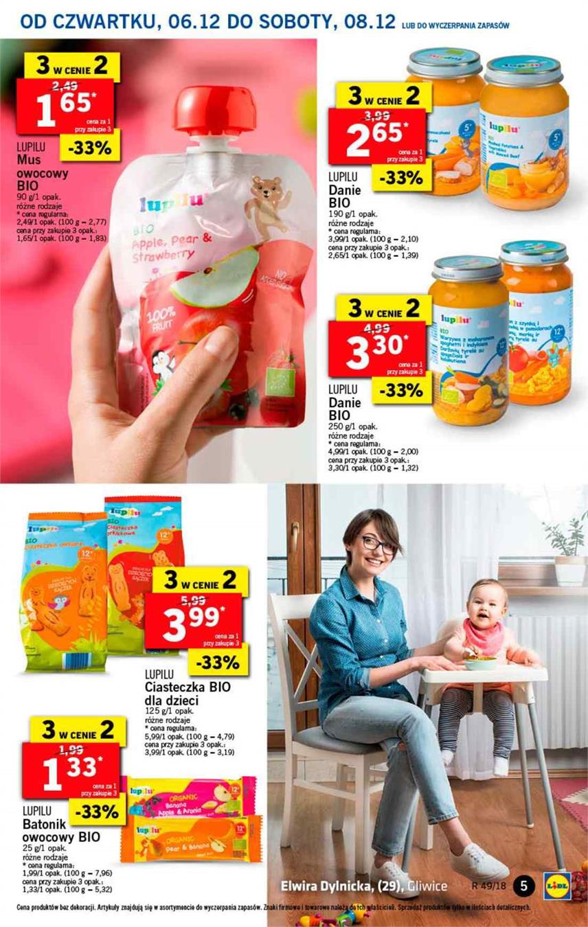 Gazetka Lidl Polska Sp. z o.o. nr 5 od 2018-12-06 do 2018-12-08