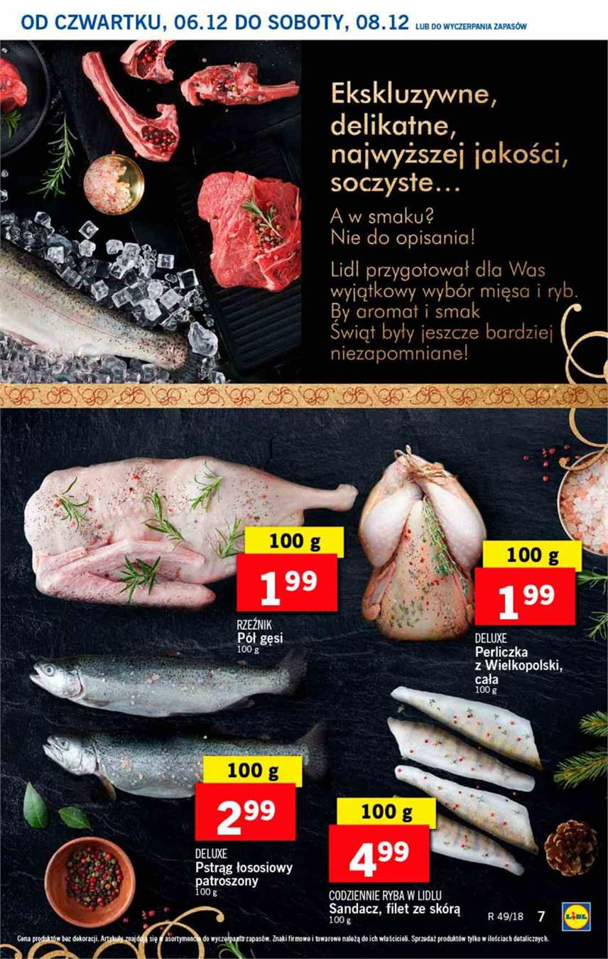 Gazetka Lidl Polska Sp. z o.o. nr 7 od 2018-12-06 do 2018-12-08