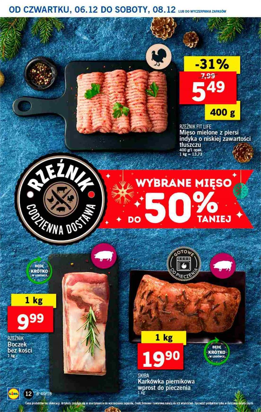 Gazetka Lidl Polska Sp. z o.o. nr 12 od 2018-12-06 do 2018-12-08