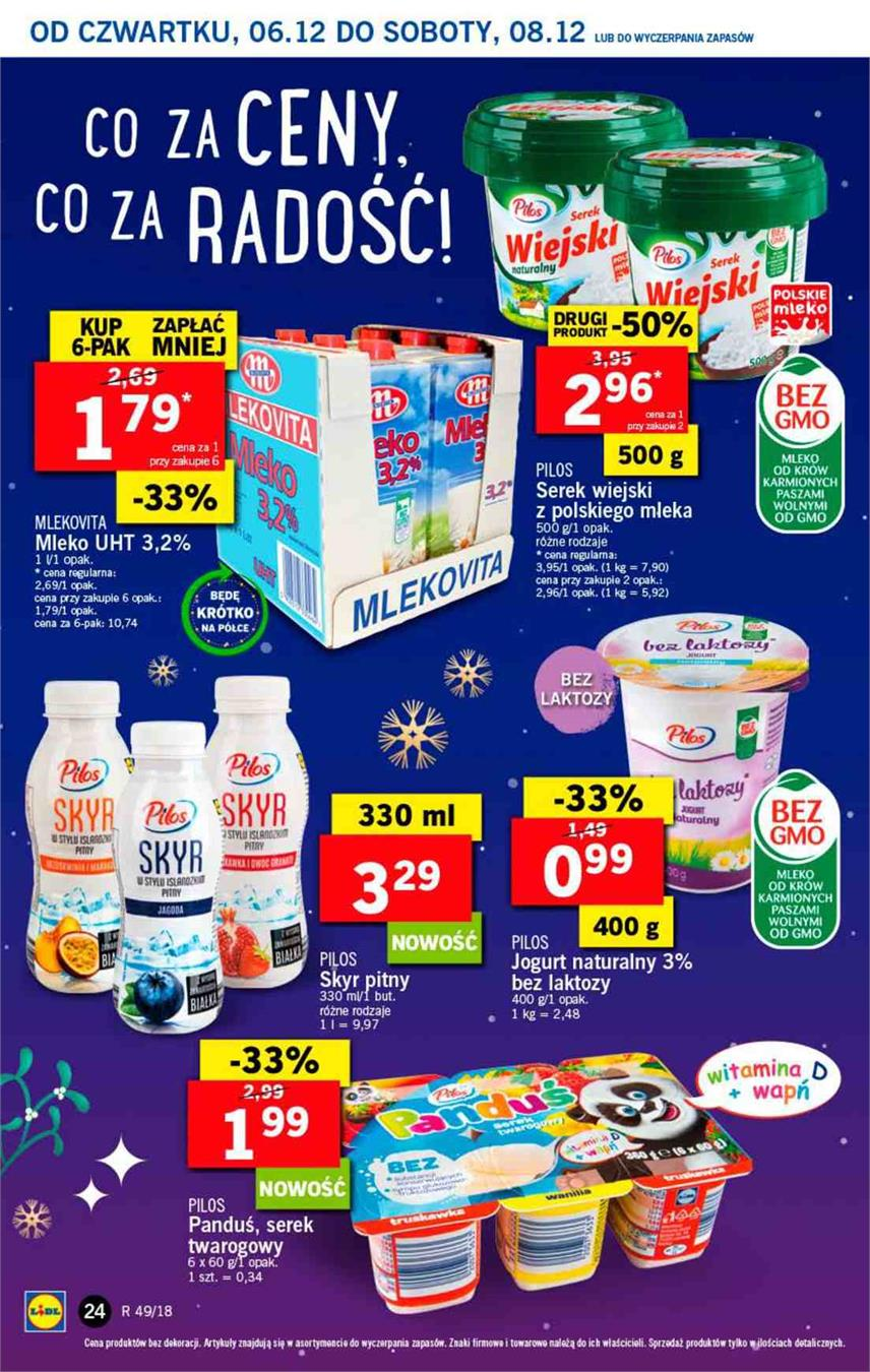 Gazetka Lidl Polska Sp. z o.o. nr 24 od 2018-12-06 do 2018-12-08